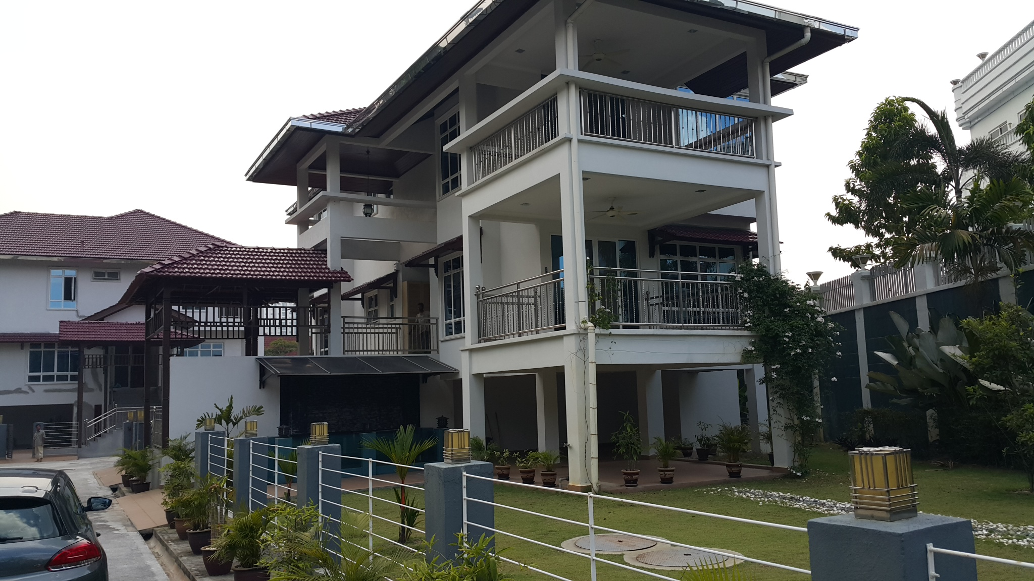 One of the detached houses for sale